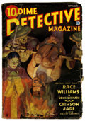 Pulps:Detective, Dime Detective Magazine September 1935 (Popular, 1935) Condition:GD/VG....