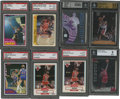 Basketball Cards:Lots, 1980-1999 Basketball Graded Group Lot of 68. ...