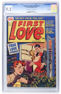 Golden Age (1938-1955):Romance, First Love Illustrated #17 File Copy (Harvey, 1952) CGC NM- 9.2Cream to off-white pages....