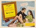 """Movie Posters:Comedy, Ball of Fire (RKO, 1941). Title Lobby Card (11"""" X 14"""").. ..."""