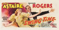 "Movie Posters:Musical, Swing Time (RKO, 1936). Promotional Mailer (17"" X 34"").. ..."