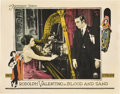 "Movie Posters:Drama, Blood and Sand (Paramount, 1922). Lobby Card (11"" X 14"").. ..."
