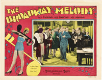 "The Broadway Melody (MGM, 1929). Lobby Card (11"" X 14"")"