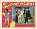 "Movie Posters:Musical, The Broadway Melody (MGM, 1929). Lobby Card (11"" X 14"").. ..."