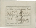 "Autographs:Statesmen, Oliver Wolcott Jr. Early Connecticut Pay Order Signed ""Oliv.Wolcott Jr"" with paraph. One page, 6.75"" x 5"", February 27,..."