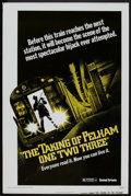 "Movie Posters:Crime, The Taking of Pelham One Two Three (United Artists, 1974). One Sheet (27"" X 41"") Advance. Crime.. ..."