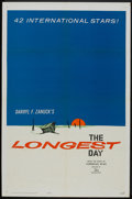 "Movie Posters:War, The Longest Day (20th Century Fox, 1962). One Sheet (27"" X 41"")Advance. War.. ..."