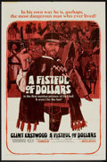 "Movie Posters:Western, A Fistful of Dollars (United Artists, 1967). One Sheet (27"" X 41""). Western.. ..."
