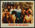 """Movie Posters:Adventure, Mutiny On The Bounty Lot (MGM, R-1957). Lobby Cards (2) (11"""" X14""""). Adventure.. ... (Total: 2 Items)"""