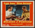 "Movie Posters:Adventure, Soldier of Fortune (20th Century Fox, 1955). Lobby Cards (5) (11"" X14""). Adventure.. ... (Total: 5 Items)"