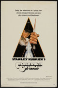 """Movie Posters:Science Fiction, A Clockwork Orange (Warner Brothers, 1971). One Sheet (27"""" X 41"""") XRated Version. Science Fiction.. ..."""