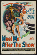 "Movie Posters:Comedy, Meet Me After the Show (20th Century Fox, 1951). One Sheet (27"" X 41""). Comedy.. ..."