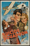 """Movie Posters:War, Suicide Squadron (Republic, 1941). One Sheet (27"""" X 41""""). War.. ..."""