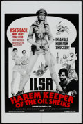 "Movie Posters:Cult Classic, Ilsa, Harem Keeper of the Oil Sheiks (Cambist Films, 1976). OneSheet (27"" X 41""). Cult Classic.. ..."