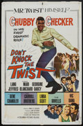 "Movie Posters:Rock and Roll, Don't Knock the Twist (Columbia, 1962). One Sheet (27"" X 41""). Rock and Roll.. ..."