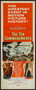 "Movie Posters:Historical Drama, The Ten Commandments (Paramount, 1956). Insert (14"" X 36"").Historical Drama.. ..."