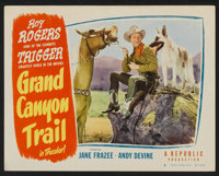 """Grand Canyon Trail (Republic, 1948). Lobby Card Set of 8 (11"""" X 14""""). Western. ... (Total: 8 Items)"""