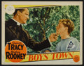 "Movie Posters:Drama, Boys Town (MGM, 1938). Lobby Card (11"" X 14""). Drama.. ..."