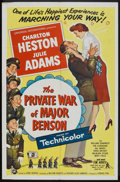 "Movie Posters:Comedy, The Private War of Major Benson (Universal International, 1955). One Sheet (27"" X 41""). Comedy.. ..."