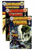 Bronze Age (1970-1979):Horror, Swamp Thing Group (DC, 1974-75) Condition: Average QualifiedNM-.... (Total: 7 Comic Books)