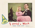 "Movie Posters:Fantasy, I Married a Witch (United Artists, 1942). Lobby Cards (2) (11"" X14"").. ... (Total: 2 Items)"