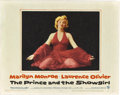"""Movie Posters:Romance, The Prince and the Showgirl (Warner Brothers, 1957). Lobby Cards(2) (11"""" X 14"""").. ... (Total: 2 Items)"""