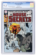 Bronze Age (1970-1979):Horror, House of Secrets #84 (DC, 1970) CGC NM- 9.2 Off-white pages....