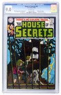 Silver Age (1956-1969):Mystery, House of Secrets #81 (DC, 1969) CGC VF/NM 9.0 Off-white pages....