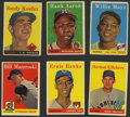 Baseball Cards:Lots, 1958 Topps Baseball Group of (405) With Over 40 HoFers!...