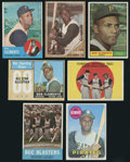 Baseball Cards:Lots, 1950's-1960's Topps Roberto Clemente Group of (7). ...