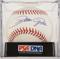 Autographs:Baseballs, Pete Rose Single Signed Baseball PSA Mint 9....