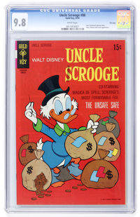 Uncle Scrooge #88 File Copy (Gold Key, 1970) CGC NM/MT 9.8 White pages