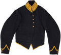 Military & Patriotic:Civil War, Fine Condition Cavalry Enlisted Man's Shell Jacket....