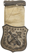 Military & Patriotic:Civil War, Scarce and Impressive Ninth Corps Badge of a Twice Wounded Officer....