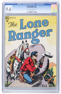 Lone Ranger #2 (Dell, 1948) CGC NM+ 9.6 Off-white to white pages