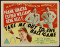 "Movie Posters:Musical, Take Me Out to the Ball Game Lot (MGM, 1949). Title Lobby Cards (2) and Lobby Card (11"" X 14""). Musical.. ... (Total: 3 Items)"