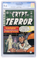Golden Age (1938-1955):Horror, Crypt of Terror #19 Gaines File pedigree 7/11 (EC, 1950) CGC NM+9.6 Off-white to white pages....