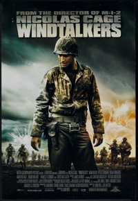 "Windtalkers (MGM, 2002). One Sheet (27"" X 40"") DS. War"