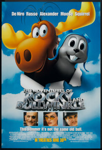 "The Adventures of Rocky and Bullwinkle (Universal, 2000). One Sheet (27"" X 40"") DS Advance. Children's"