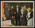 """Movie Posters:Hitchcock, Saboteur (Universal, 1942). Lobby Cards (2) (11"""" X 14"""").Hitchcock.. ... (Total: 2 Items)"""