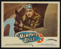 """The Memphis Belle (Paramount, 1944). Lobby Cards (3) (11"""" X 14""""). War. ... (Total: 3 Items)"""