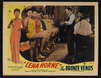 "The Bronze Venus (Toddy Pictures, 1945). Lobby Card (11"" X 14""). Black Films"
