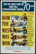 """Movie Posters:Western, How the West Was Won (MGM, 1963). One Sheet (27"""" X 41"""") 70 MM Style and Pressbook (Multiple Pages, 12.25"""" X 17""""). Western.... (Total: 2 Items)"""