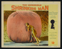 """The Incredible Shrinking Man (Universal International, 1957). Lobby Cards (3) (11"""" X 14""""). Horror. ... (Total:..."""