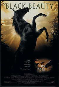 """Black Beauty Lot (Warner Brothers, 1994). One Sheets (2) (27"""" X 40"""") DS. Family. ... (Total: 2 Items)"""