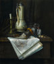 "The Hon. Paul H. Buchanan, Jr. Collection  CHARLES ALFRED MEURER (American, 1865-1955) Still Life with ""Times Star&..."