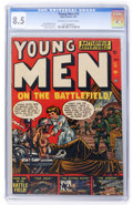 Golden Age (1938-1955):War, Young Men #14 (Atlas, 1952) CGC VF+ 8.5 Off-white to whitepages....