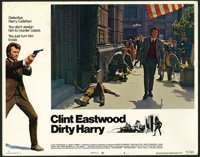 """Dirty Harry Lot (Warner Brothers, 1971). Lobby Cards (5) (11"""" X 14""""). Crime. ... (Total: 5 Items)"""