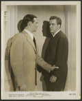 """Movie Posters:Film Noir, D.O.A. (United Artists, 1950 and R-1955). Stills (3) (8"""" X 10""""). Film Noir.. ... (Total: 3 Items)"""