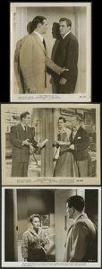 """Movie Posters:Film Noir, D.O.A. and Other Lot (United Artists, 1950). Photos (3) (8"""" X 10""""). Film Noir.. ... (Total: 3 Items)"""